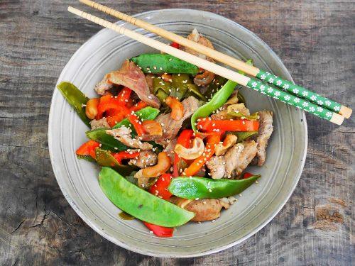 Bœuf sauté à l'asiatique – Recette du livre Simplissime En 30 min je cuisine pour toute la semaine