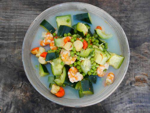 Nage de fruits de mer au safran – Recette du livre Simplissime En 30 min je cuisine pour toute la semaine