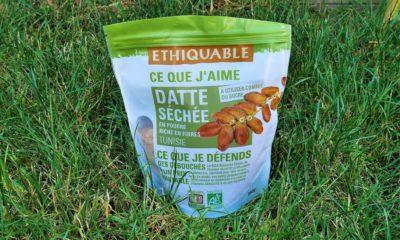Découverte : Dattes séchée en poudre de la marque Ethiquable