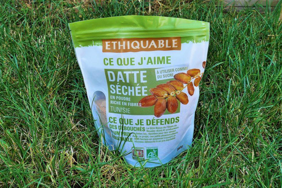 Dattes séchée en poudre Ethiquable