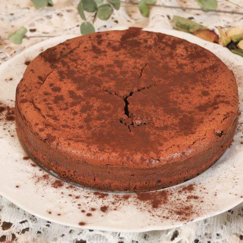Chessecake chocolat à l'indice glycémique bas