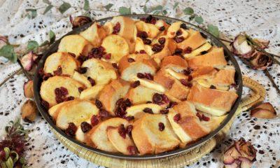 Pain perdu façon tarte aux pommes à l'indice glycémique bas