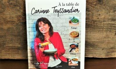 Avis : A la table de Carinne Teyssandier – Le livre