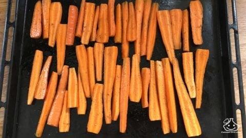 Recette facile et healthy de carotte libanaise