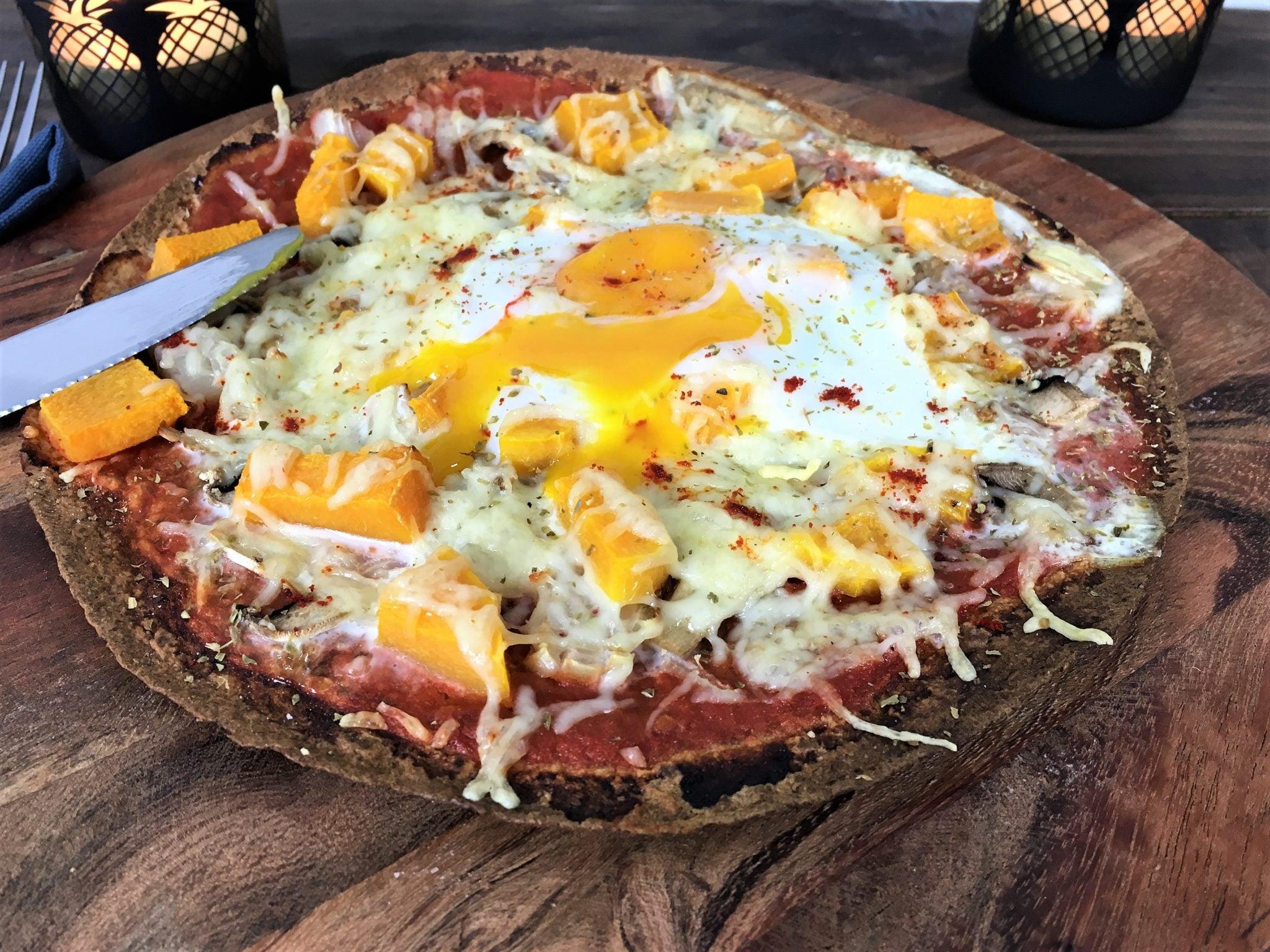 Recette de Thibault Geoffray - La pizza wrap - Cuisine Test