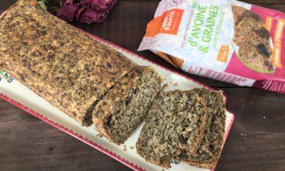 Découverte : Préparation pour pain sans pétrissage Avoine et graines Mon Fournil