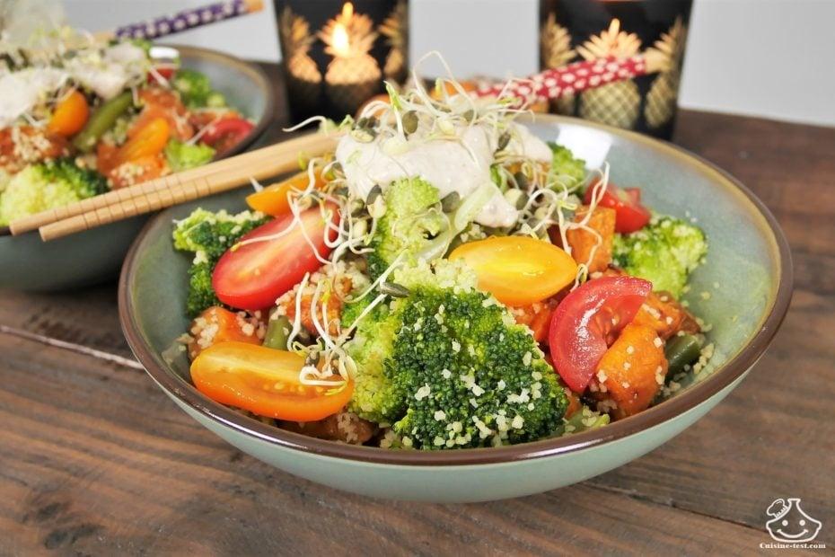 Idée recette du soir Salade de patates douce