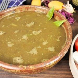 Recette facile de soupe aux lentilles