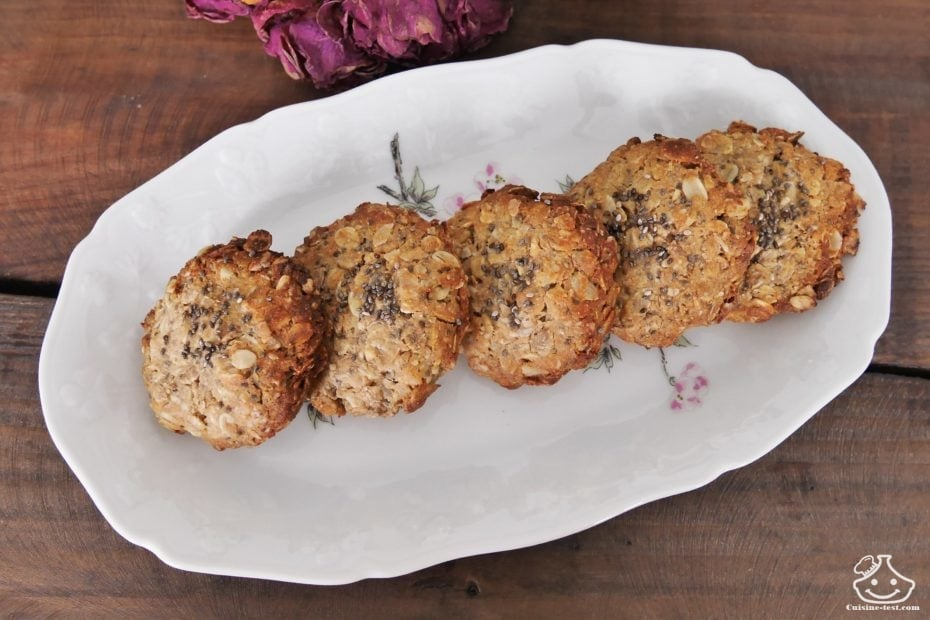 Recette de cookies protéinés Thibault Geoffray