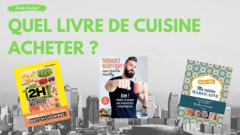 Achetez le meilleur livre de cuisine 2020 – grand comparatif