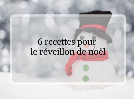 Idée de recettes pour Noël