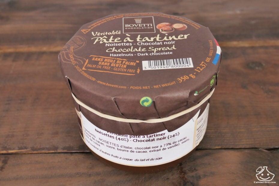 Pâte à tartiner Bovetti chocolatier