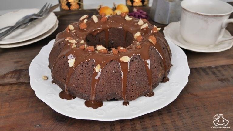 Recette de gâteau au chocolat à l'eau