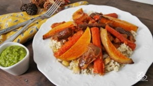 Menu de batch cooking végétarien