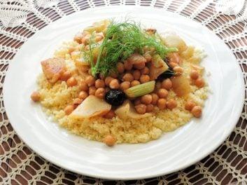 Couscous végétarien – Recette du livre «Mes premiers pas en batch cooking Veggie»