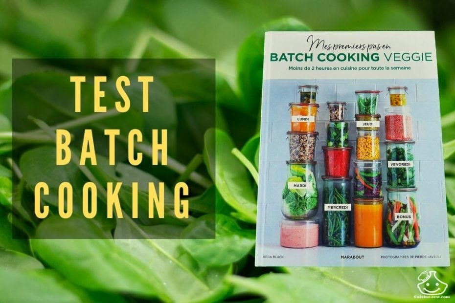 Livre de batch cooking Keda