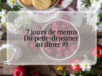 7 jours de menus organisation de repas pour prendre soin de son cerveau #1