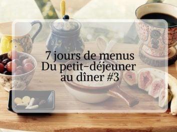 7 jours de menu organisation de repas pour maîtriser son budget #3