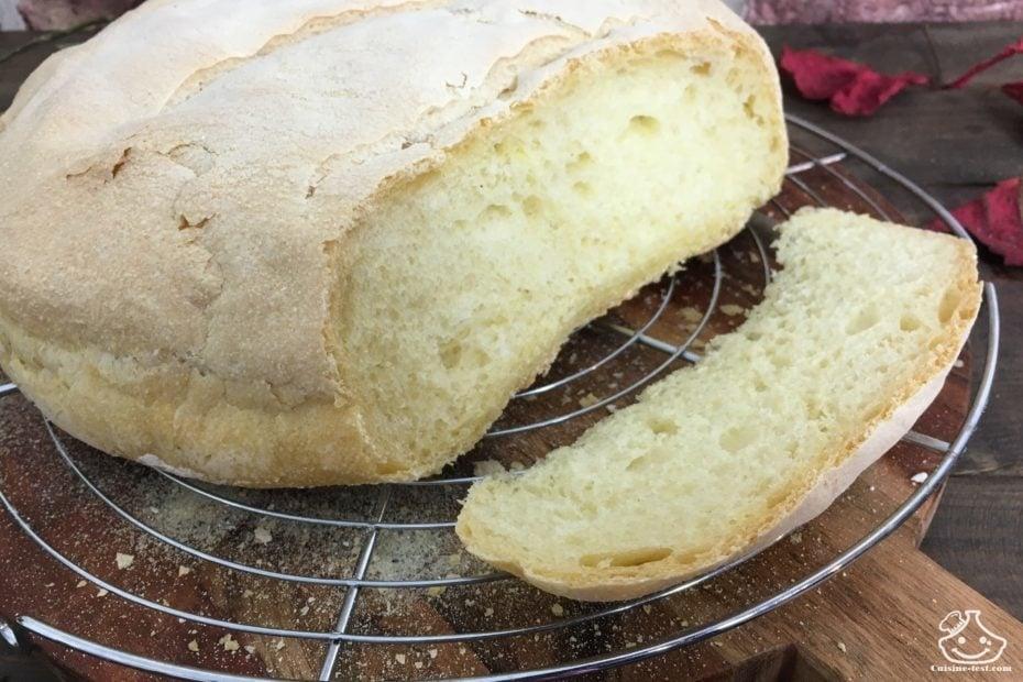Recette de pain maison facile
