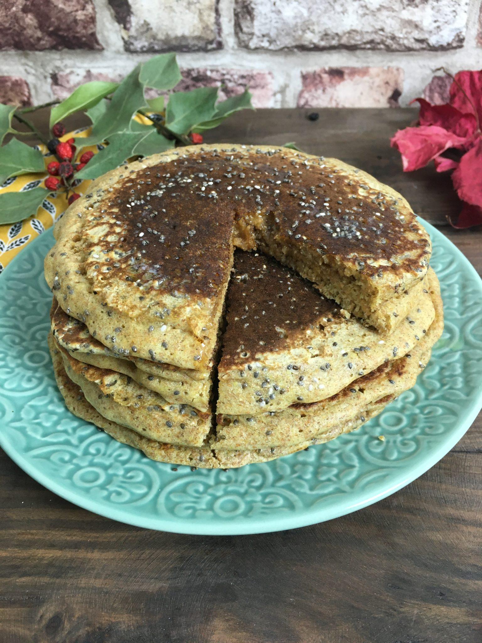 Fluffy pancakes aux graines de chia