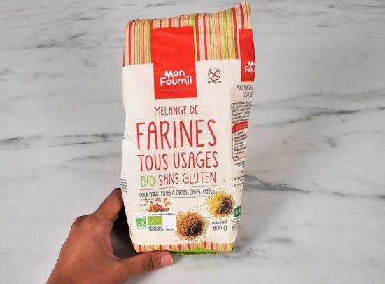 Découverte : Farine tous usages sans gluten Bio de Mon fournil