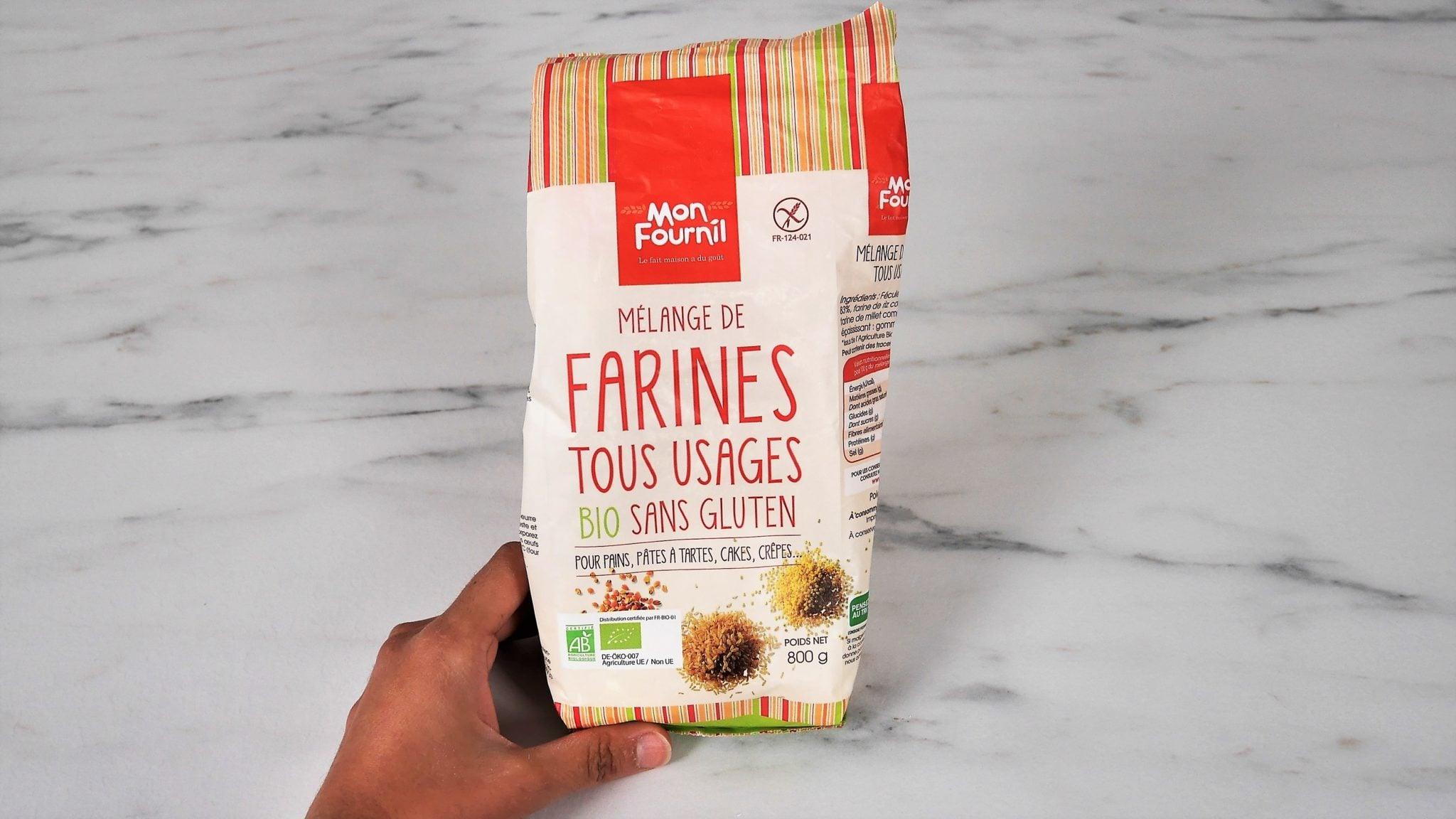 Mélange farine sans gluten tout usage