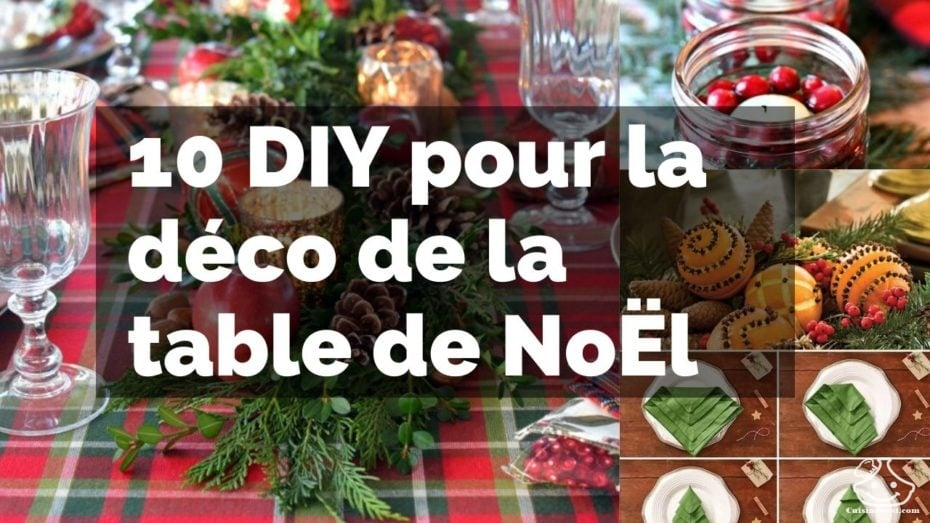 10 DIY pour la Deco de la TABLE