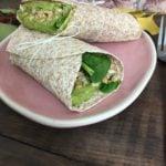 Wrap au green houmous et épinard