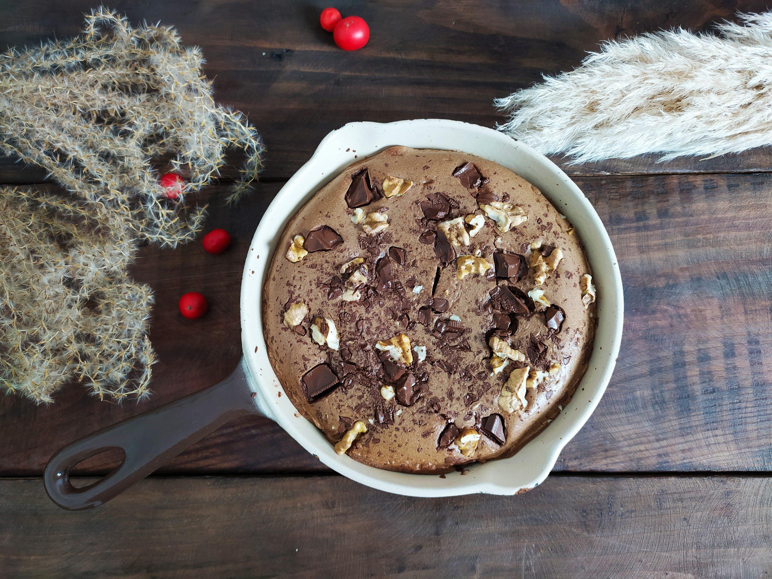 Gâteau chocolat sans sucre ajouté