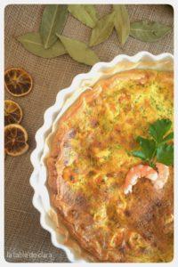 Recette de tarte de crevettes au curry