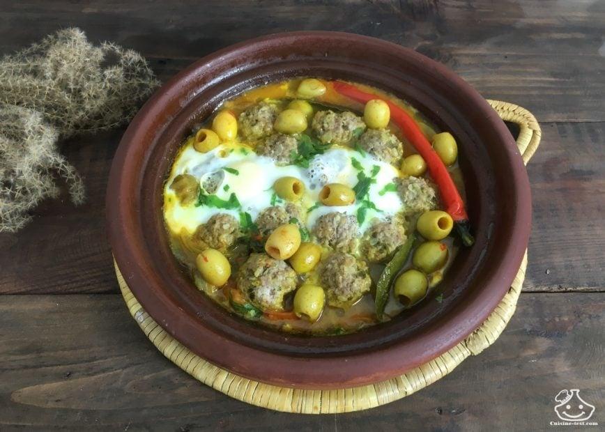 tajine kefta oeuf - Recette de tajine marocain