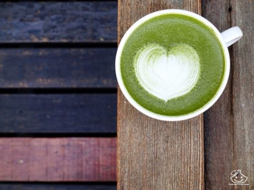 Thé Matcha Latte bio sans sucre ajouté