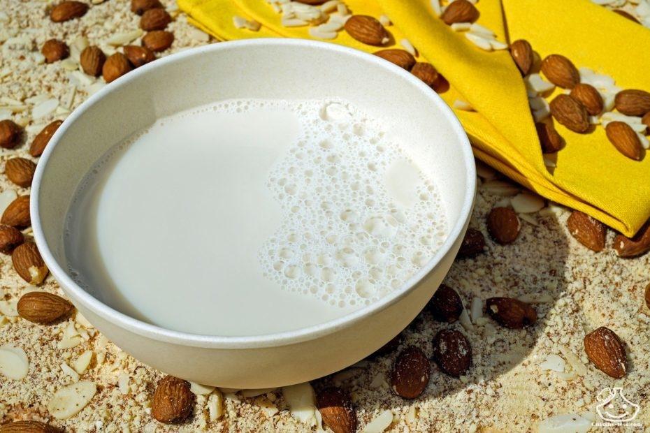 lait d'amande maison Boisson végétale à l'amande