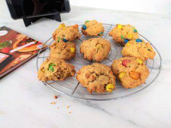 Recette cookies m&m's avec Chef Binou en mode intéractif