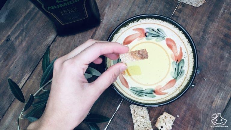 Huile d'olive Numidia pour le petit déjeuner