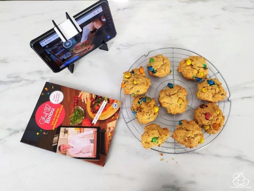 Livre de cuisine Interactif pour enfants Extrapage