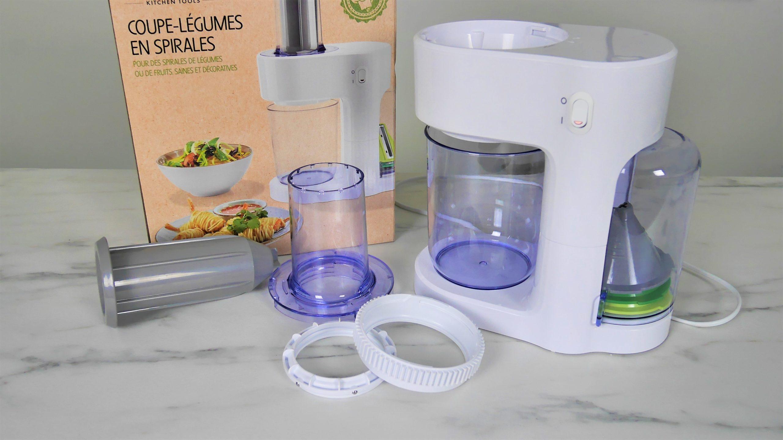 Coupe légumes en Spirales électrique Silvercrest Lidl