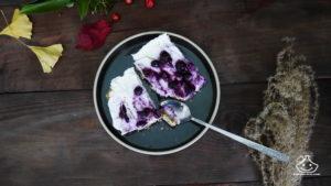 Barre aux céréales et yaourt glacé