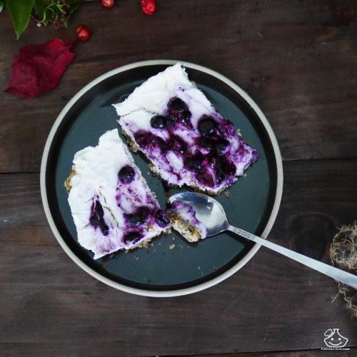 Barre de céréales au yaourt glacé