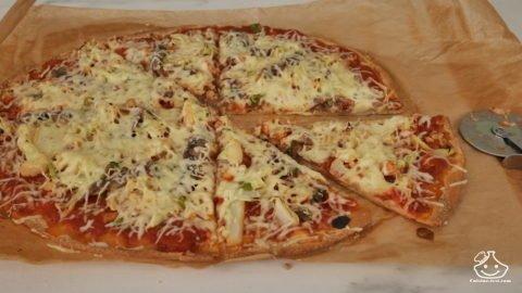 Batch cooking Pizza aux légumes et anchois