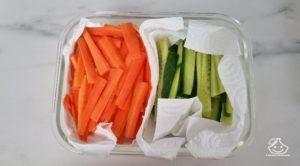 Batch cooking, les légumes de saison