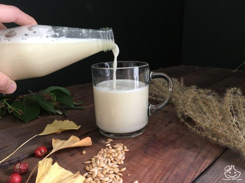 Faire son lait végétal maison avec un sac à lait végétal
