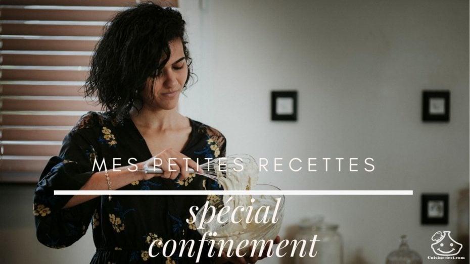 Ebook livre de recette gratuit pdf - mes petites recettes - spécial confinement