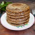 Pancakes à la farine de caroube