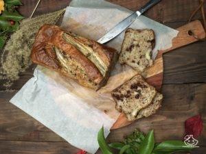 banana bread cake