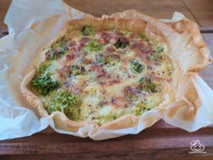 Tarte aux brocolis facile et rapide