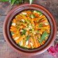 tajine poulet légumes