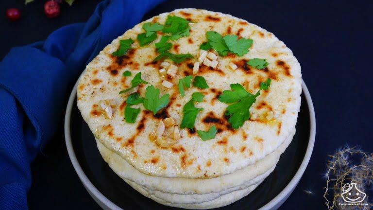 Le Bazlama pain turc