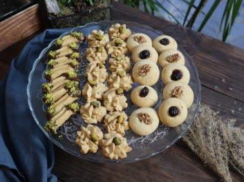 Gâteau ramadan facile : Sablé pour Aïd Al Fitre
