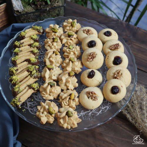 Gâteau ramadan facile : Sablés pour Aïd Al Fitre